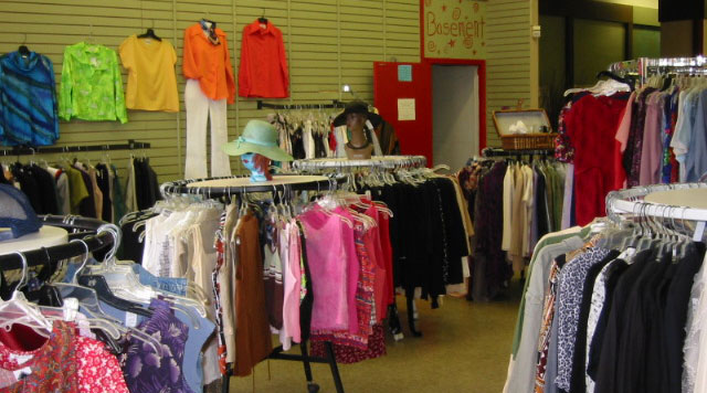 Some of the wearable clothes goes into American thrift stores