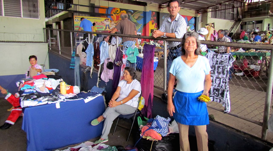 Wearable and reusable clothes can be sold on market places and make a good income for many families.